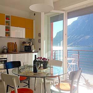 Bild zeigt das Hotel Firo di Lago am Comer See
